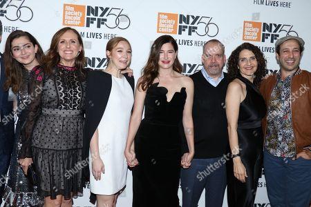 Emily Robinson, Molly Shannon, Kayli Carter, Kathryn Hahn, Paul Giamatti, Tamara Jenkins and Desmin Borges