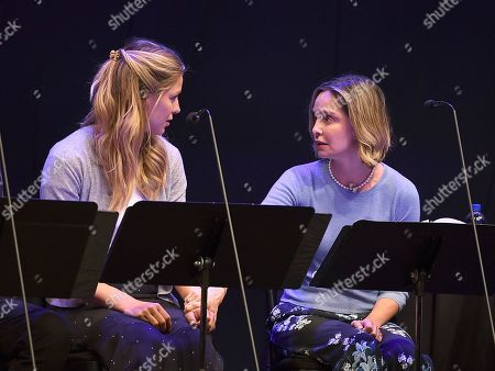 Melissa Benoist, Calista Flockhart. Melissa Benoist, left, and Calista Flockhart perform at the one night only Terms of Endearment reading benefitting Stand Up To Cancer and Geffen Playhouse on Monday, Oct.1, 2018, in Los Angeles