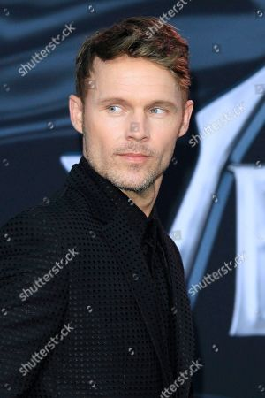 US actor/cast member Scott Haze arrives for the premiere of Columbia Pictures' 'Venom' at the Regency Village Theater in Westwood, Los Angeles, California, USA, 01 October 2018 (issued 02 October 2018). The movie opens in the US on 05 October 2018.
