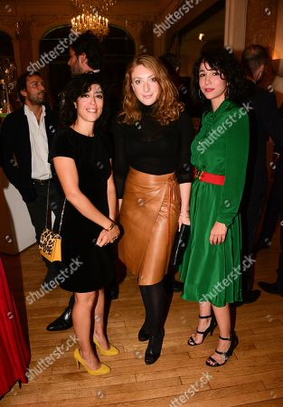Naidra Ayadi, Sarah Stern, Karina Testa