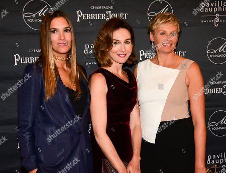Editorial image of M Foundation gala dinner, Paris, France - 01 Oct 2018