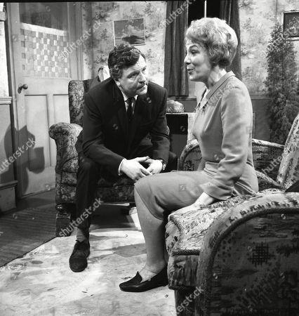 Glyn Owen (as Norman Lindley) and Betty Alberge (as Florrie Lindley)