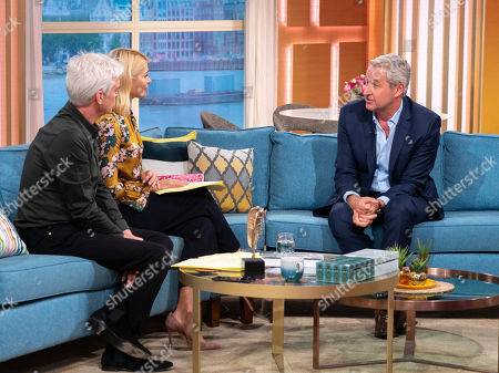Phillip Schofield and Holly Willoughby with Mark Austin