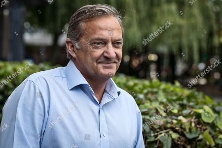 Gary Mabbutt Interview With Ian Ladyman. Sep 1st 2017 - Manchester Uk. Picture By Ian Hodgson/daily Mail.