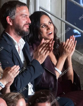 The Opening Ceremony Of The Invictus Games 2017 Toronto At The Air Canada Centre Toronto Ontario Canada. Meghan Markle Sat In The Audience With Markus Anderson. **** Check I.d. ******.