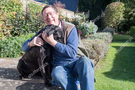 Sir Max Hastings Is Writing About How He Recently Nearly Lost His Beloved Black Labrador Dog 'lupo' To Illness.