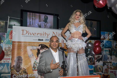 Keith Vaz. Diversity Night At A Party Hosted By Labour Mp Keith Vaz.