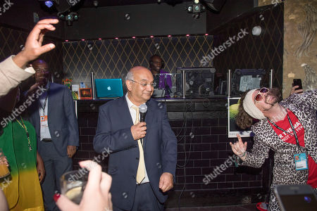 Keith Vaz. Labour Party Conference Brighton: September 2017: Keith Vaz At The Jamaica Night On The Karaoke At The Pryzm Club In Brighton Last Night. Brighton 24 September 2017.
