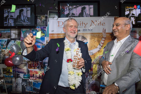 Jeremy Corbyn. Diversity Night At A Party Hosted By Labour Mp Keith Vaz. Jeremy Corbyn At The Event.
