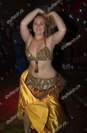Diversity Night At A Party Hosted By Labour Mp Keith Vaz - Belly Dancer.