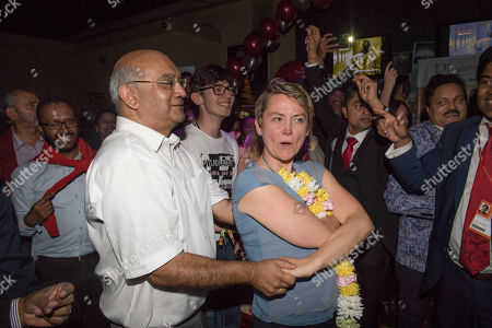 Keith Vaz. Diversity Night At A Party Hosted By Labour Mp Keith Vaz. With Yvette Cooper.
