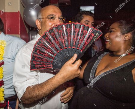 Keith Vaz. Diversity Night At A Party Hosted By Labour Mp Keith Vaz. Keith Vaz Dances With Karen Cummings.