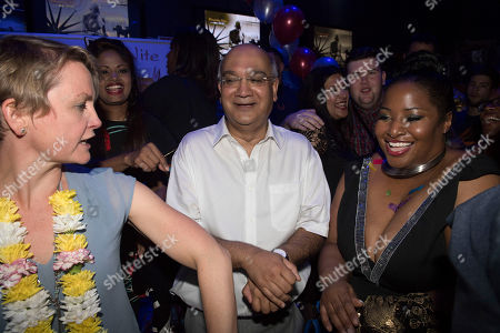 Keith Vaz. Diversity Night At A Party Hosted By Labour Mp Keith Vaz. With Yvette Cooper And Karen Cummings.