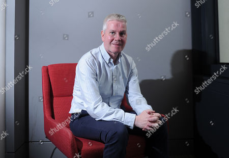 Editorial image of Mike Costello Commentator Of The Bbc 23/08/17: Picture Kevin Quigley/daily Mail.