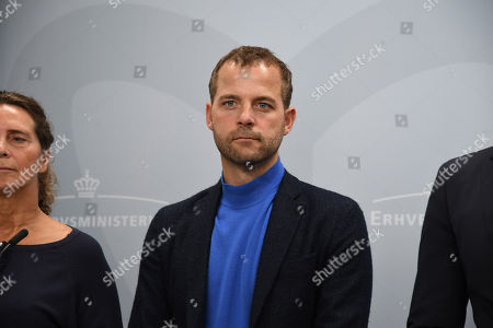 Stock Picture of Morten Ostergaard leader of Danish Radikale Ventre radical liberal party.