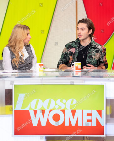 Andrea McLean, Stacey Solomon, George Shelley