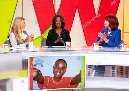 Editorial image of 'Loose Women' TV show, London, UK - 02 Oct 2018