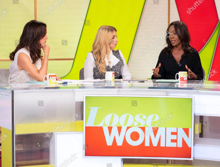 Andrea McLean, Stacey Solomon, Diane Parish
