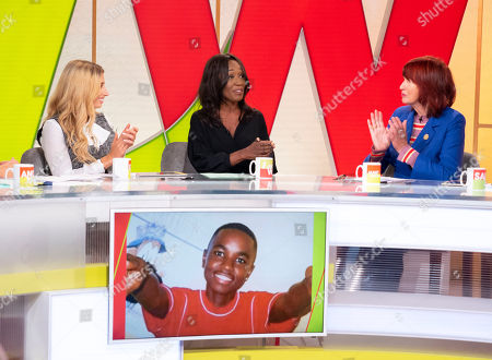 Editorial picture of 'Loose Women' TV show, London, UK - 02 Oct 2018