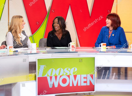 Stock Photo of Stacey Solomon, Diane Parish, Janet Street-Porter