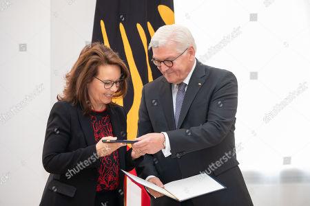 Editorial photo of German President Steinmeier awards Federal Order of Merit to 29 people, Berlin, Germany - 02 Oct 2018