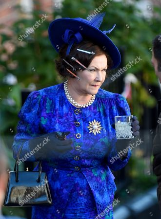 Francis Barber plays Princess Margaret