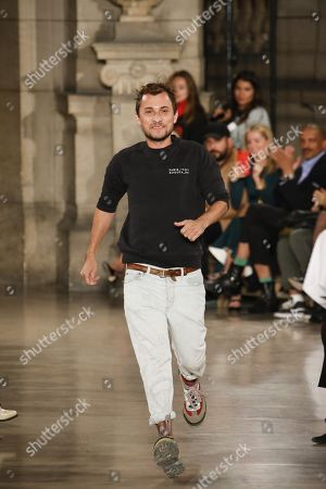 Esteban Cortazar on the catwalk