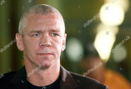 Stock Picture of German former boxer Graciano Rocchigiani arrives at the court in Berlin
