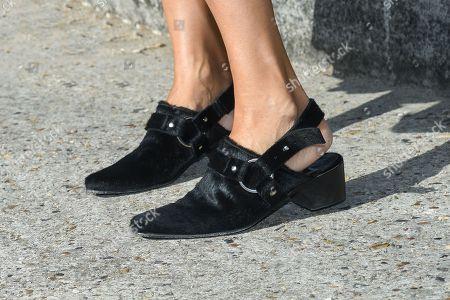 Alexandra Golovanoff, shoe detail