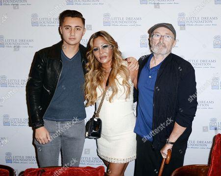 Nic Collins, Orianne Collins, Phil Collins
