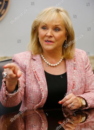 Oklahoma Governor Mary Fallin is pictured during an interview in Oklahoma City