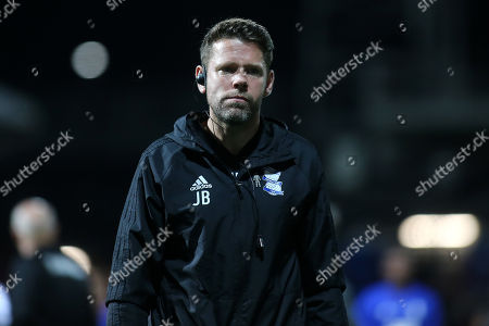 Birmingham City, First Team Coach, James Beattie during Brentford vs Birmingham City, Sky Bet EFL Championship Football at Griffin Park on 2nd October 2018