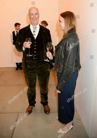 Editorial photo of Sean Scully 'Uninsideout' private view, London, UK - 02 Oct 2018