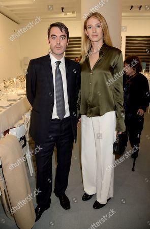 James Fox and Alexandra Lalonde