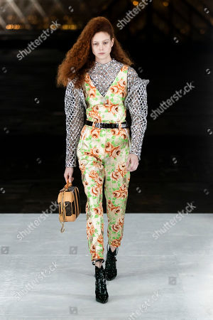 Editorial image of Louis Vuitton - Runway - Paris Fashion Week Women's Collections S/S 2019, France - 02 Oct 2018