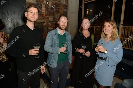 Benoit Loiseau, Alex Matchett, Marion Freidmann and Tabi Jackson Gee