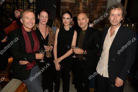 Editorial picture of Maestro Dobel and Frida Escobedo dinner, London, UK - 02 Oct 2018
