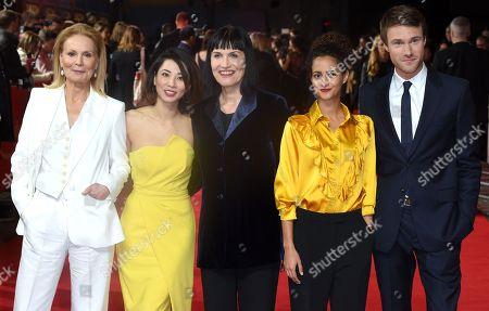 Marthe Keller, Jing Lusi, Adele Anderson, Ines Melab and Hugh Skinner