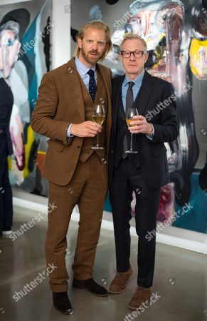 Stock Image of Alistair Guy and Philip Start