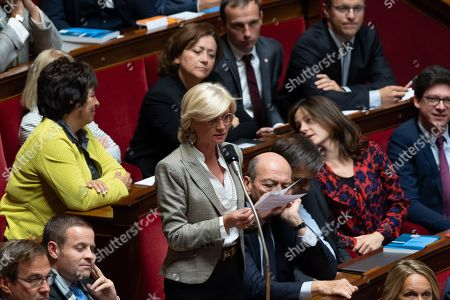 Editorial photo of Weekly session of questions to the government, Paris, France - 02 Oct 2018