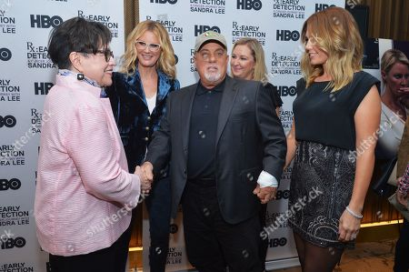 Kathy Bates, Sandra Lee, Billy Joel and Alexis Roderick