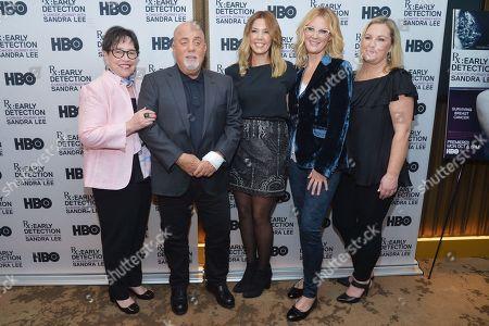 Kathy Bates, Billy Joel, Alexis Roderick, Sandra Lee and Guest
