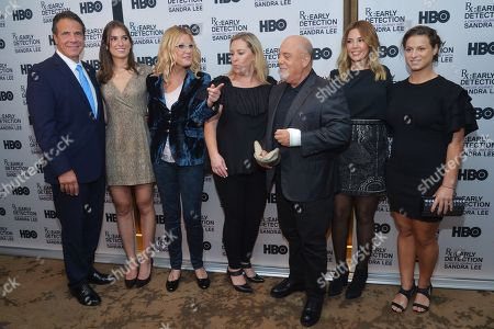 Andrew Cuomo, Guest, Sandra Lee, Guest, Billy Joel, Alexis Roderick and Guest