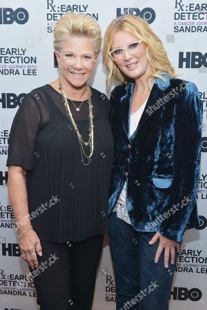 Joan Lunden and Sandra Lee