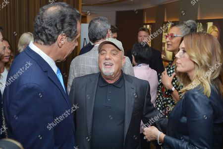 Andrew Cuomo, Billy Joel and Alexis Roderick