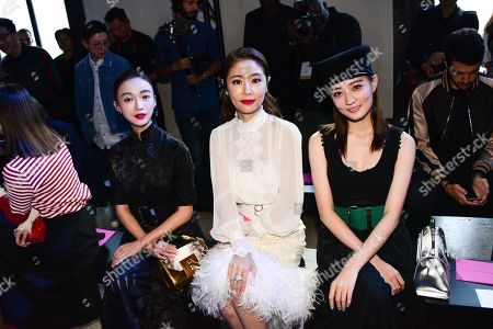 Stock Picture of Wu Jinyan, Ruby Lin, Xu Lu