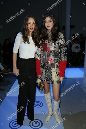 Juliette Besson and Claire Chust