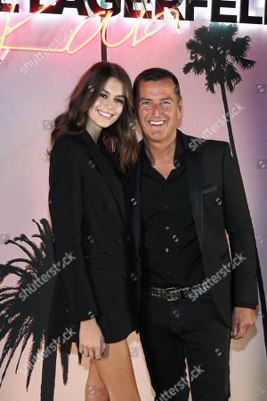 Kaia Gerber and Pier Paolo Righi