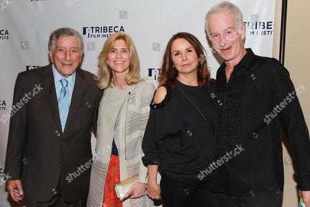 Tony Bennett, Susan Crow, Patty Smyth and John McEnroe