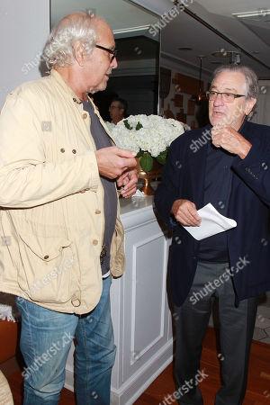 Chevy Chase and Robert De Niro